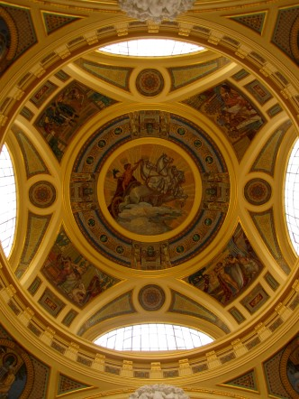 Ceiling of the Szechenyi Baths