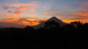 Sunset on Ometepe