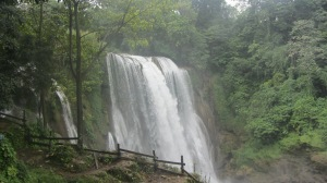 Waterfall near Lago de Yojoa