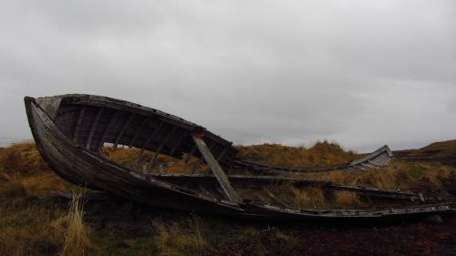 Shipwreck on Flatey